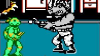 Teenage Mutant Ninja Turtles II (NES) All Bosses (No Damage)