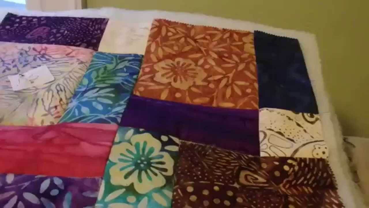 Quilting the D9P and the Stitch in the Ditch presser foot - YouTube : quilt in the ditch - Adamdwight.com