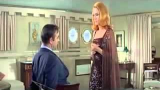 James Bond and Helga Brandt
