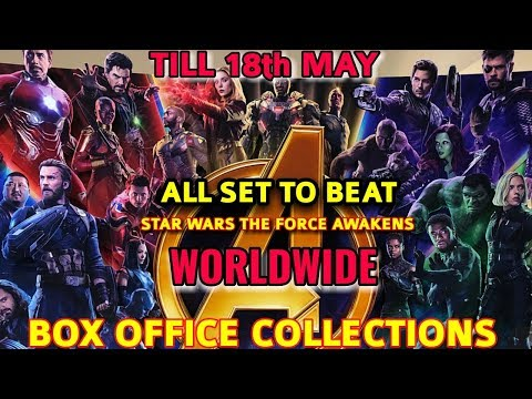 AVENGERS INFINITY WAR WORLDWIDE BOX OFFICE COLLECTION TILL 18 MAY ALL SET TO BEAT STAR WARS (TFA )
