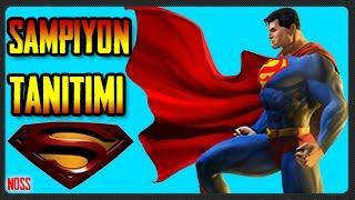Şampiyon Tanıtımı SUPERMAN! | Test Sunucusu(Server) | Strike of Kings | 17