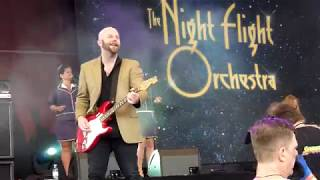 The Night Flight Orchestra - Living For The Nighttime - Rock Hard Festival 2017