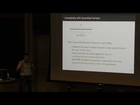 ICAPS 2017: Complexity of Timeline-based Planning