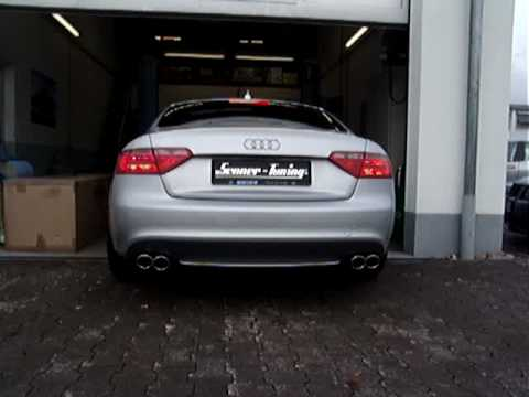 senner tuning sportauspuff audi a5 3 2 fsi youtube. Black Bedroom Furniture Sets. Home Design Ideas