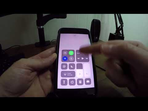 iOS 11 Bug Can't Turn Off Bluetooth or WiFi From The Control Center