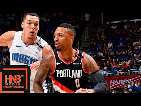 Portland Trail Blazers vs Orlando Magic Full Game Highlights | 10.25.2018, NBA Season