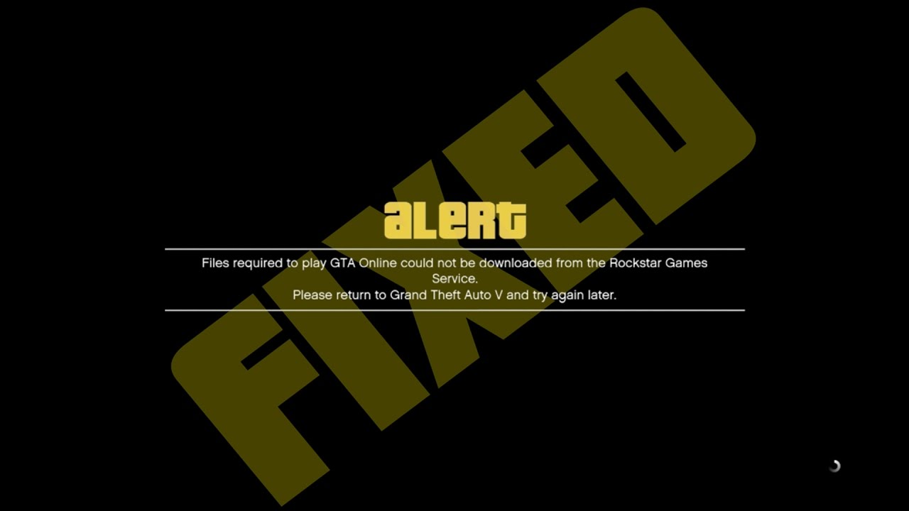 Rockstar Game Services Are Unavailable Pc