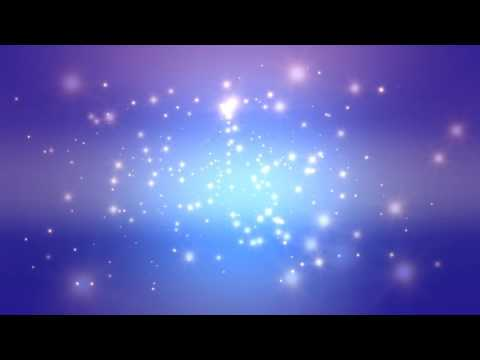 60:00 Minutes ~Purple Blue Moving Stars~ Longest (!!!) FREE HD Motion Background AA VFX