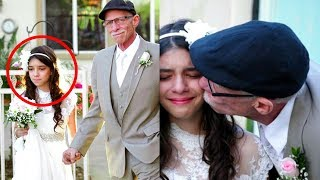 62-Year Old Man Marries An 11-year Old! Check out the reason for that!