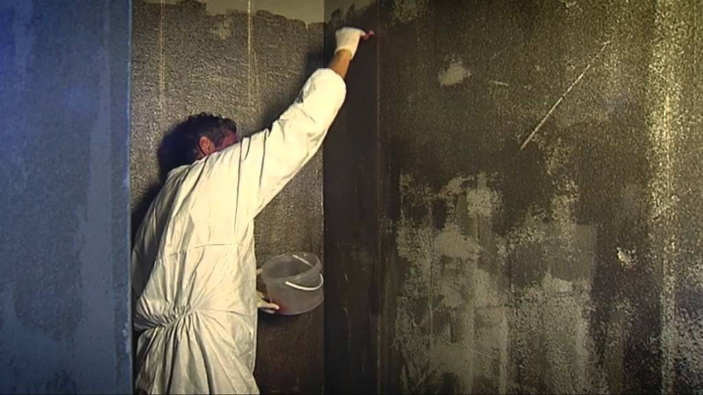 Betonnen Badkamer Muur ~ Zelf waterdicht maken in polyester van een douchewand met Vosschemie