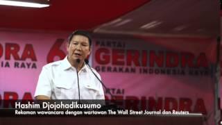 Rekaman Audio Hashim Djojohadikusumo Dengan Wartawan The Wallstreet Journal dan Reuters