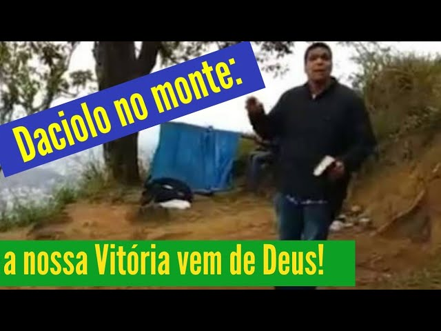 Blog do Barão- Cabo Daciolo no monte