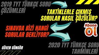2019 TYT Türkçe Soru Çözümü ve 2020 TYT'de Ne Gelebilir 3