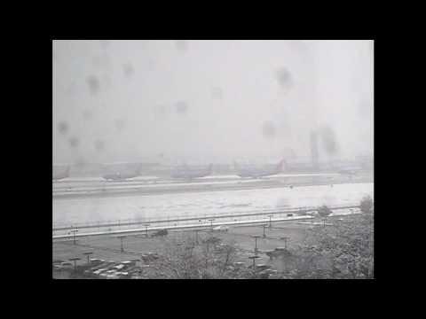 Love Field Snow Storm Feb 11, 2010