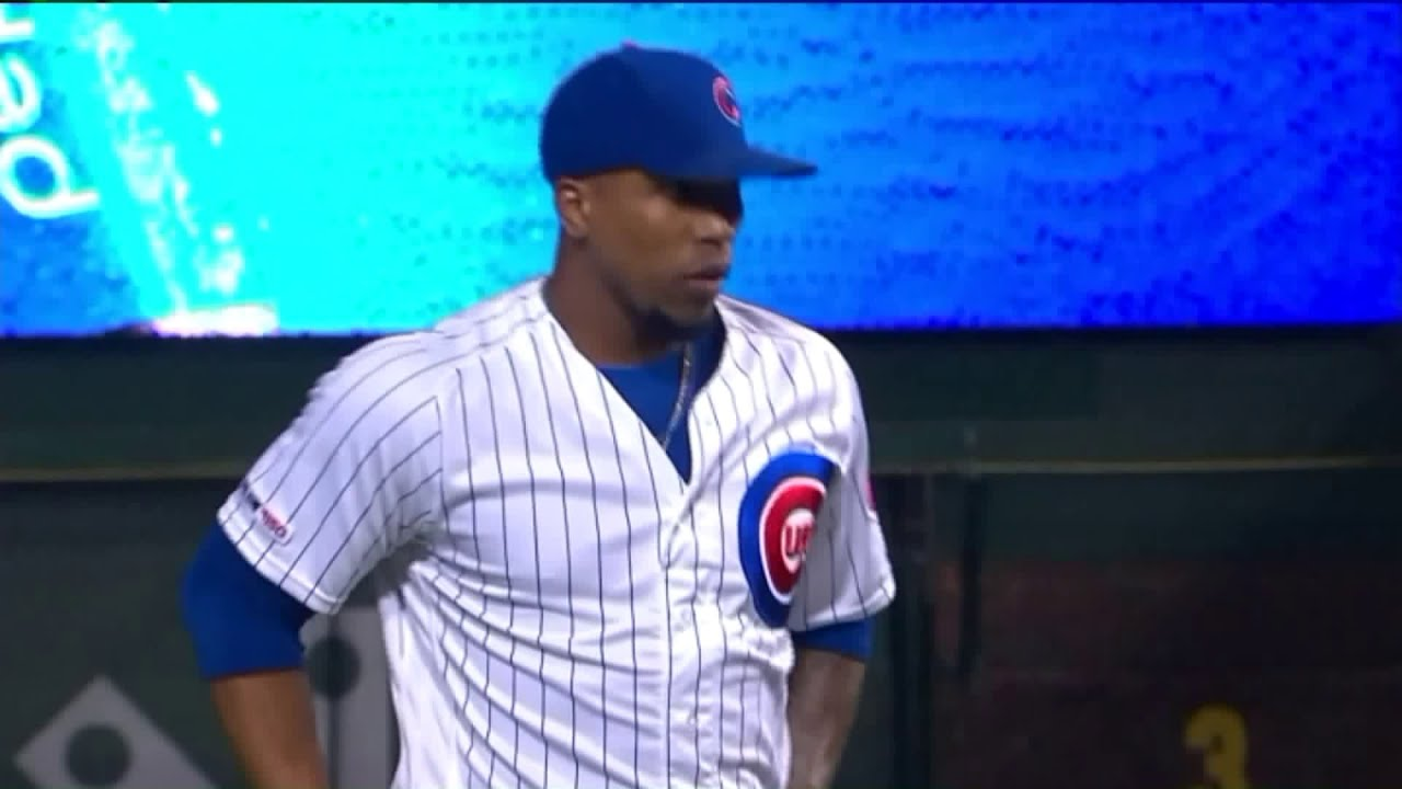 sports shoes 90fe5 e19e9 Pedro Strop gets a save for the Cubs after his car was stolen