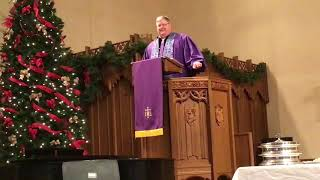 Chaplain Tim Haworth, December 1, 2019