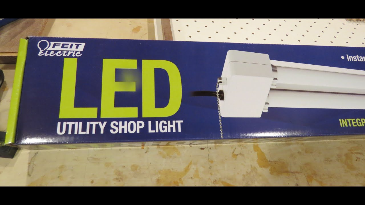 Feit Electric 38w Led Shoplight From Costco Youtube
