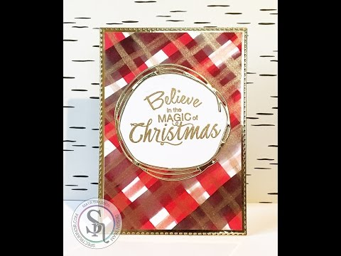 Plaid background with AquaTints