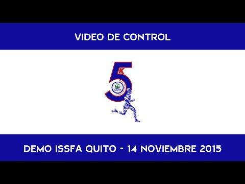 Corre y Camina ISSFA Quito DEMO de Control