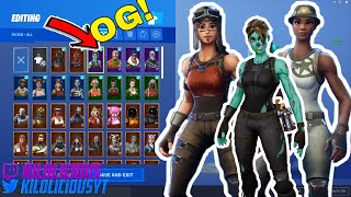 the most OG MERGING ACCOUNT EVER! (3000$ fortnite account)