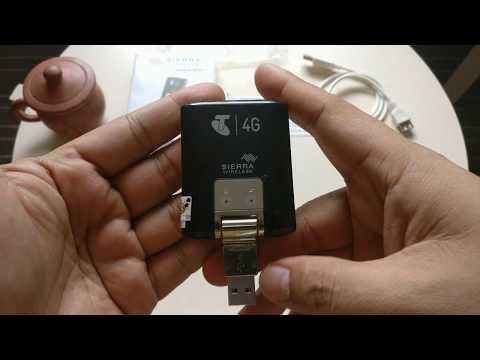 Modem SIERRA 320u Speed 100Mbps 4G LTE  Support All Operator GSM