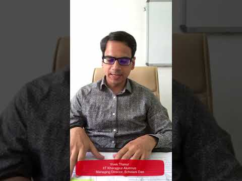 VT sir Message for JoSAA participants and IIT aspirants