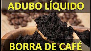 Adubo Orgânico Borra de Café – Resultado 100%