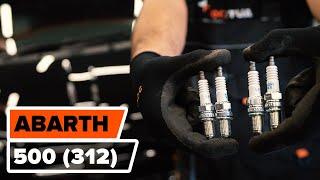 Как заменить свечи зажигания на FIAT 500 ABARTH (312) [ВИДЕОУРОК AUTODOC]