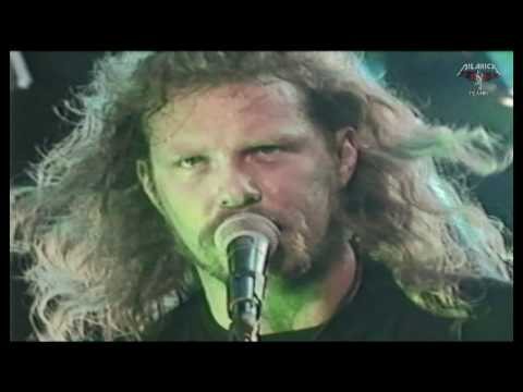 Metallica - RARE VIDEO - Wherever I May Roam -  Milton Keynes UK 1993