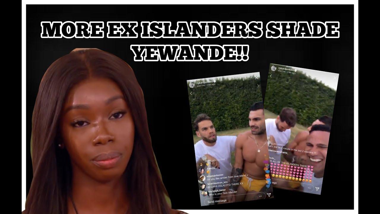 LOVE ISLAND : MORE EX ISLANDERS SHADE YEWANDE