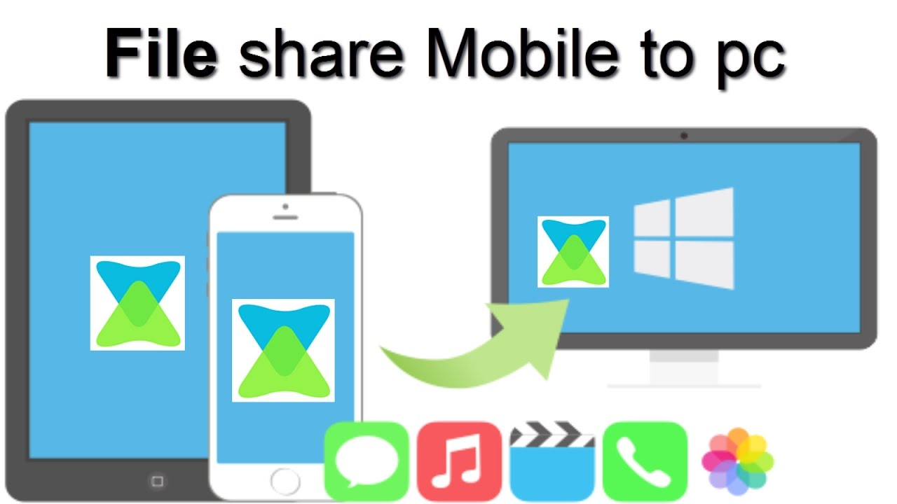 xender file transfer from mobile to pc