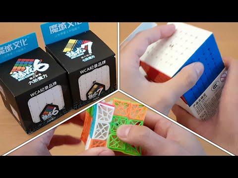 Little Magic 4x4 / MeiLong Big Cubes / DNA Cubes / SpeedCubeShop.com