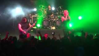 Fear Factory New Breed, Dog Day Sunrise & Body Hammer live at the Tivoli, Brisbane 2013