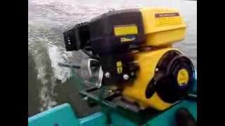 Homemade 6.5hp  longtail Mud Motor