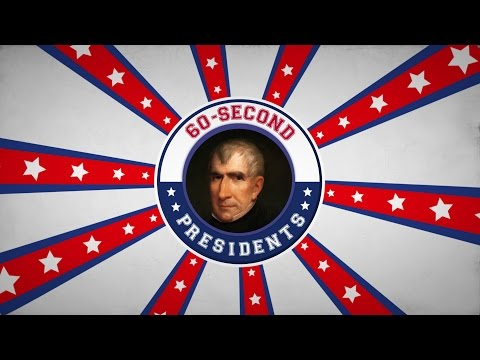 William Henry Harrison | 60-Second Presidents | PBS
