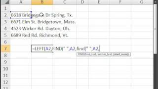 Extract Text from cells in Excel - How to get any word from a cell in Excel