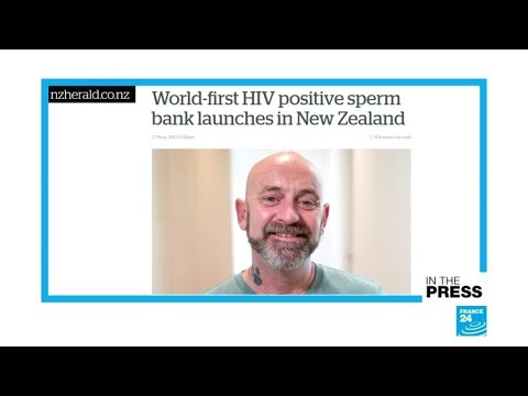 New Zealand Opens World's First HIV-positive Sperm Bank