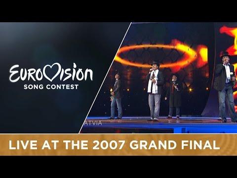 Bonaparti.lv - Questa Notte (Latvia) Live 2007 Eurovision Song Contest