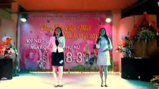 Giao lưu dâu rể trường Việt Hòa