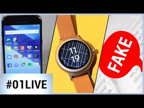 01LIVE HEBDO #129 : comment Google espère relancer les montres connectées