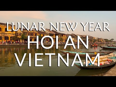 Celebrating TET (Vietnamese Lunar New Year) in HOI AN!   Vietnam Travel Vlog