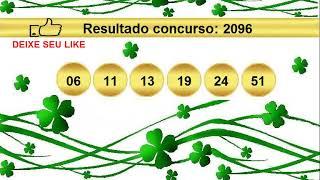 sorteio resultado mega sena 2096 Palpite 2097