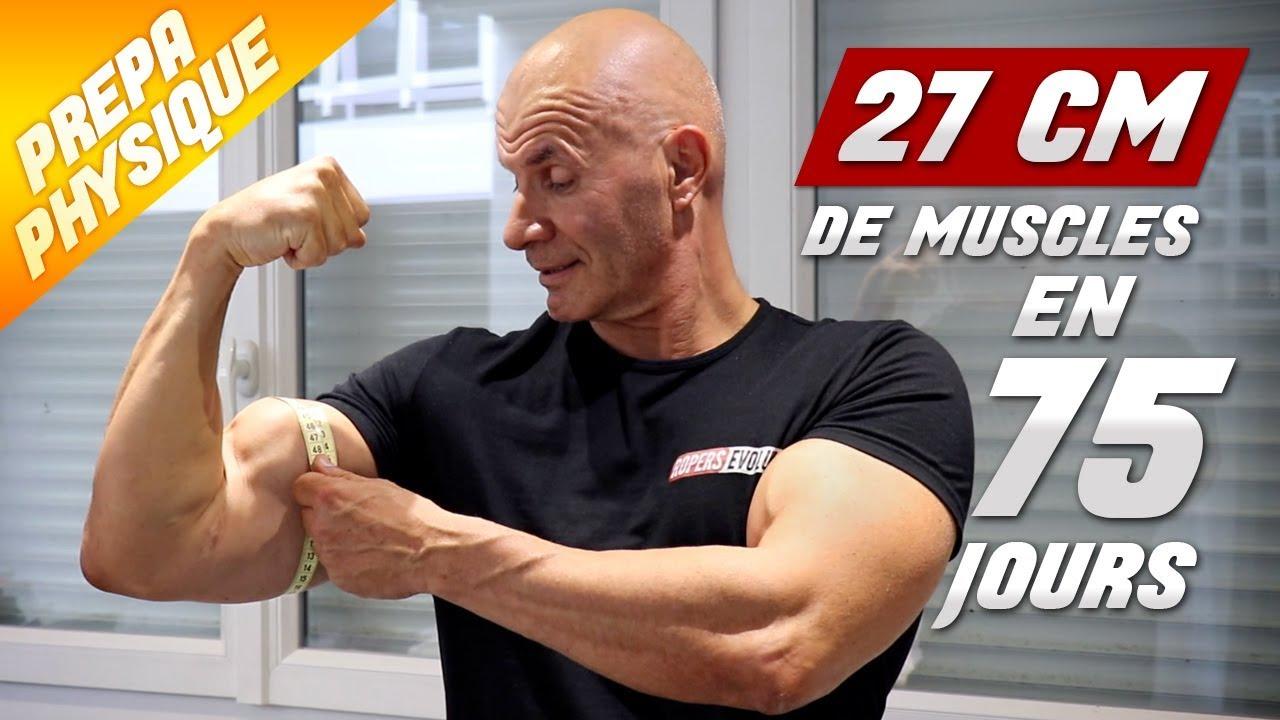 prendre du muscle à 50 ans
