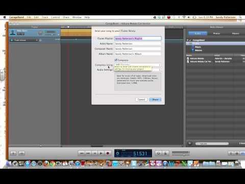 Cutting Music with GarageBand