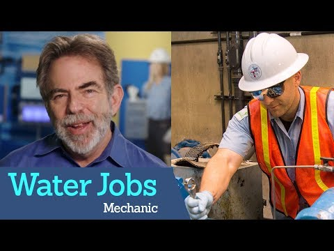 How to Get a Job as a Mechanic for Water/Wastewater