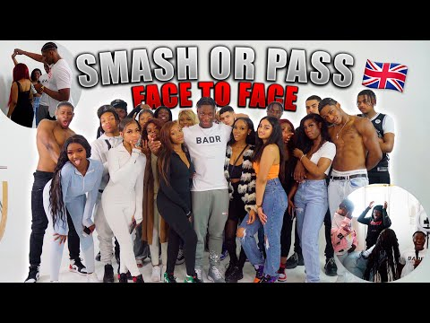 SMASH OR PASS BUT FACE TO FACE UK EDITION!! *Savage Edition*