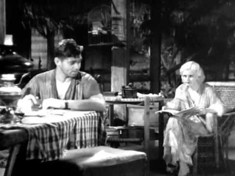 Red Dust 1932 Clark Gable Jean Harlow