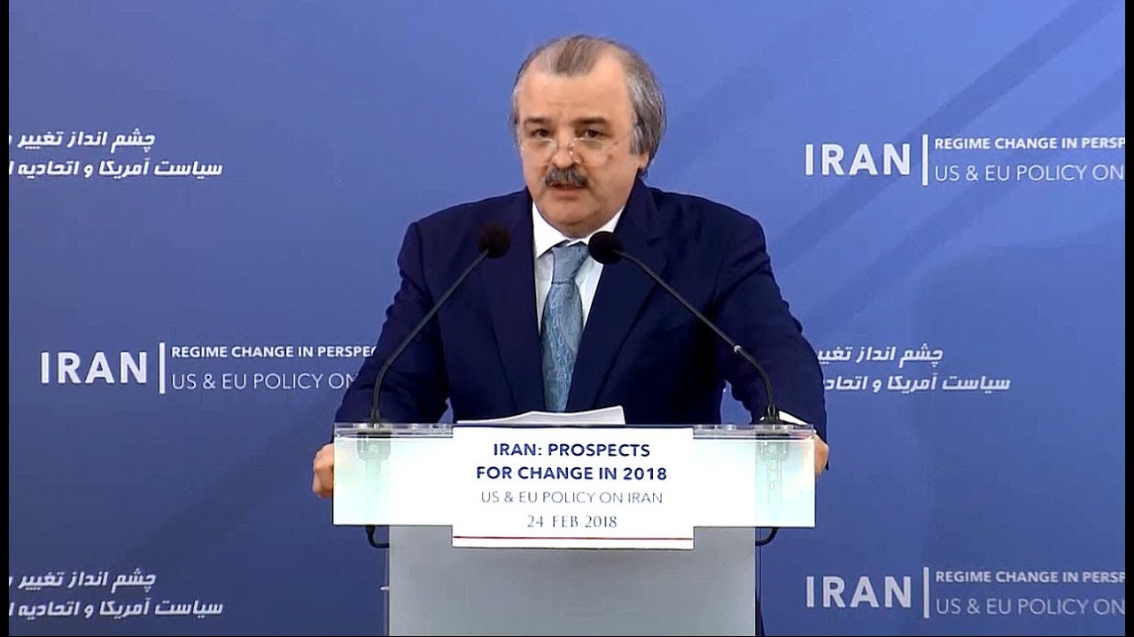 NCRI Foreign Affairs Chair Speech on US and EU policy on Iran