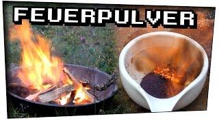 Feuerpulver aus Zucker herstellen! (Zucker + Kaliumpermanganat) - Techtastisch #26