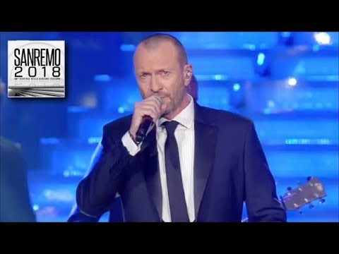 Sanremo 2018 - Biagio Antonacci canta